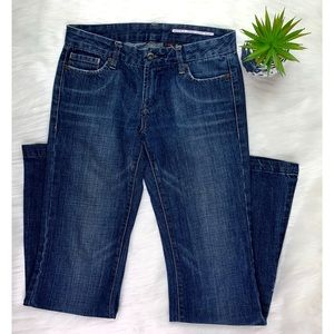 Buffalo David Bitton Size 26 Wide Leg Jeans Blue